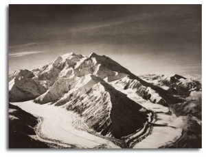 Mount McKinley from North East over Muldrow Glacier, 1938