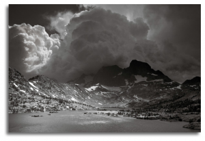 Afternoon Thunderstorm, Garnet Lake, 2010