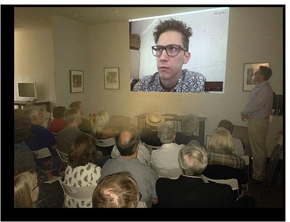 John Maloof via Skype