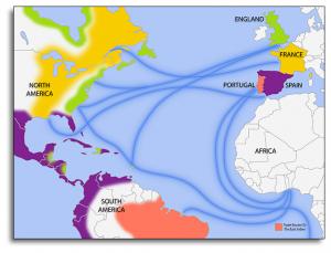 Trade Routes, (circa 1670-1730)